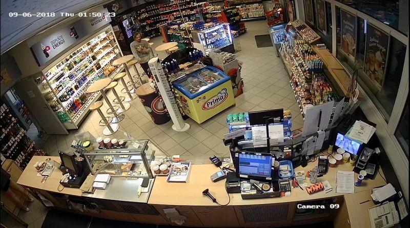 Policie hled mue zachycenho kamerou na benzince v