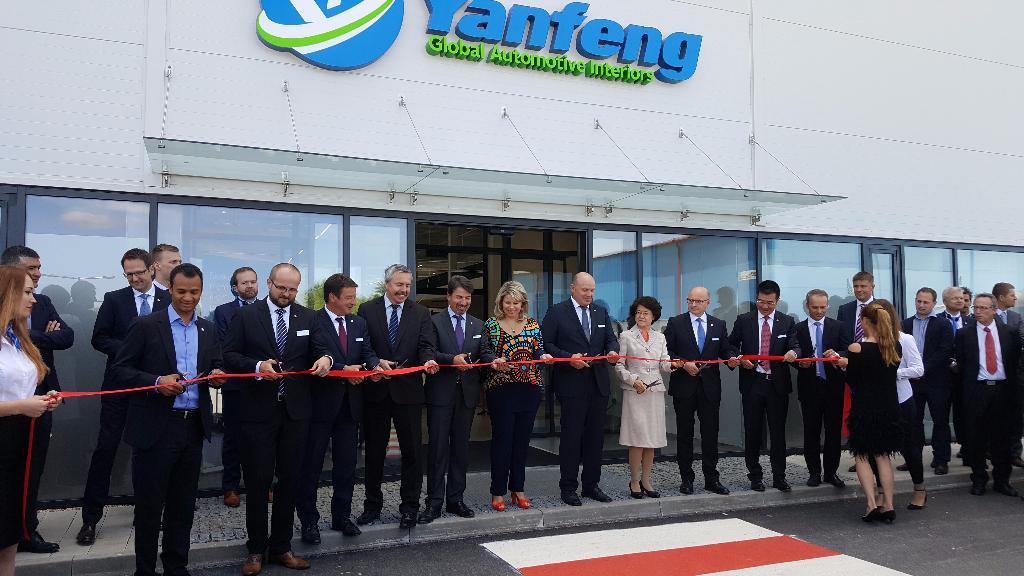 Yanfeng Automotive Interiors Otev Ela Nov V Robn Z Vod V Esk Republice Po Atci P Ibyla