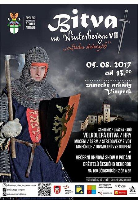 Sedmý ročník Bitvy na Winterbergu s názvem Sedm statečných rozřinčí meče a  sekery. K vidění budou i tanečnice  595f23d86d